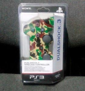 Джойстик лесной камуфляж на PS3