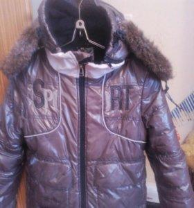 Куртка зимняя для мальчика 5 лет