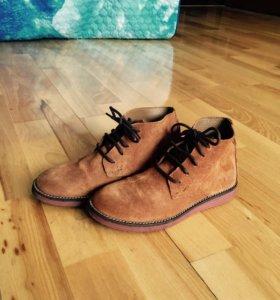 Ботинки для мальчика замшевые 35р. Zara