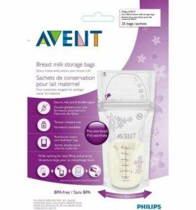 Пакеты для хранения молока Philips AVENT 180 мл