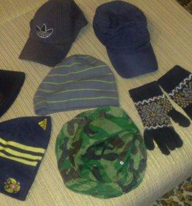 Шапки,кепки,перчатки