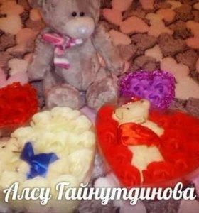 Подарочный набор игрушка и мыло