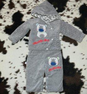 Новый комплект полукомбинезон и куртка фирмы koala
