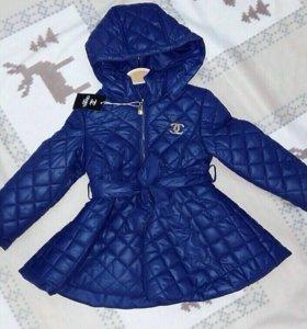 Демисезонное пальто куртка