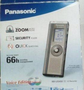 Диктофон Панасоник цифровой RR-US450