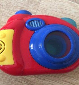 музыкальный фотоаппарат, детский, игрушка