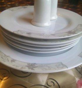 Набор тарелок на 5 персон