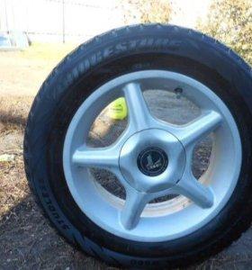 R 14 , Зимняя резина Bridgestone. можно отдельно