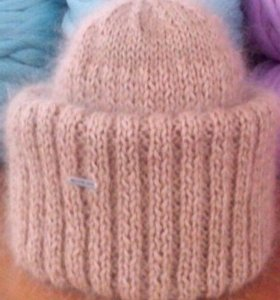 Новая шапка женская(ручная вязка)