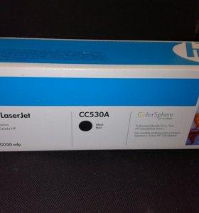 CC530A картридж черный
