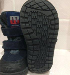 Новые Демисезонные ботиночки Minimen