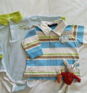Боди и кофточка для малыша