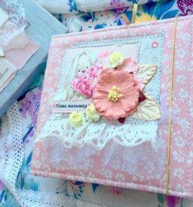 Фотоальбомы, блокноты, открытки handmade на заказ