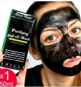 Чёрная маска от угрей и чёрных точек