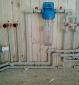 Отопление, водоснабжение, электрика.