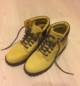 Ботинки из натуральной кожи zen age