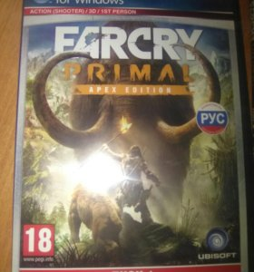 2 Дискa Far Cry Primal