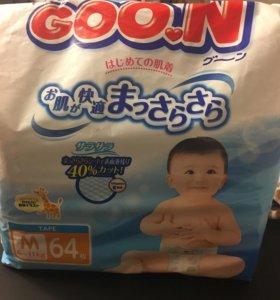 Полгузники Goon M