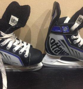 Коньки  хоккейные 34-36