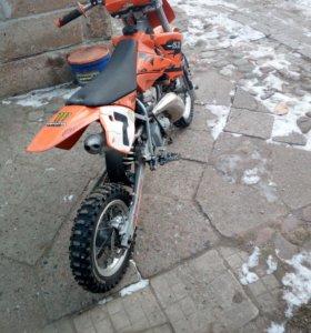 Мотоцикл КТМ 50см