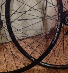 колеса для велосипеда d28,диск.