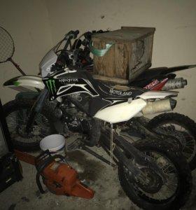 Мотоцикл motoland125 кубов