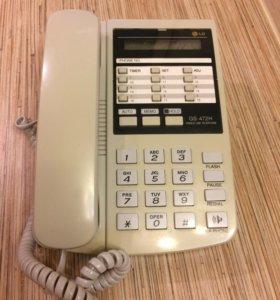 Телефон LG (стационарный)