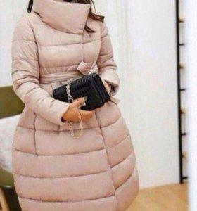 Куртка колокольчик розовая
