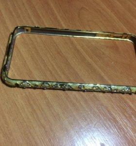 Бампер на 5 айфон железный