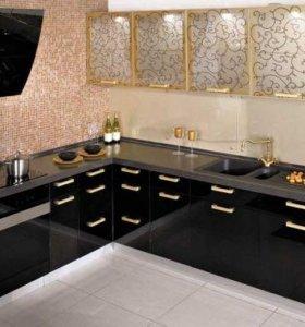 Кухни и шкафы со стеклянными фасадами