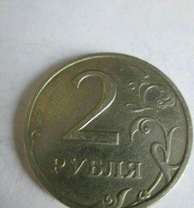 2 рубля 1999 г. СПМД, ММД