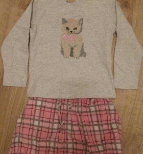 Комплект юбка + свитшот р. 122