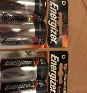 Большие батарейки Energizer max D
