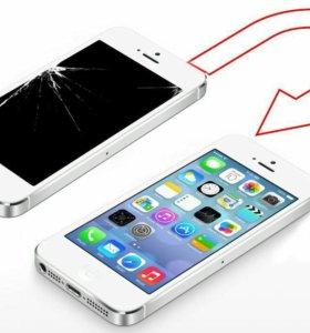 Замена модуля на iPhone 5s