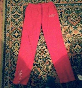 Боско штаны красные флисовые