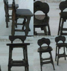 6 барных стульев