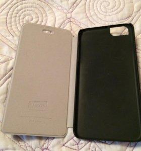 Чехол на айфон 6s+ и защитное стекло.