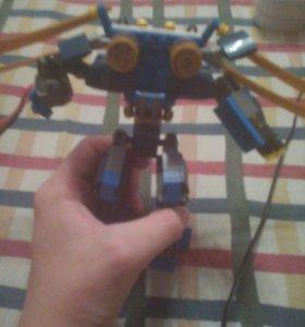 Лего робот из ниндзяго
