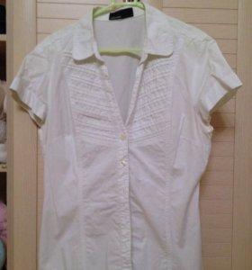 Женские блузки-рубашки хлопок 46-48 размер