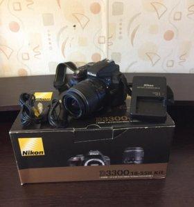 Зеркальный фотоаппарат Nikon D3300