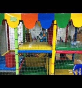 Детская игровая комната, лабиринт