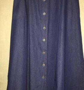 Джинсовая юбка р46 Berghaus.