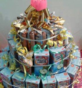 Сборка тортов и сладких композиций
