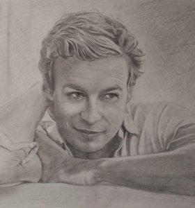 Классический портрет в карандаше