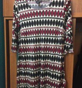 Яркая туника-платье
