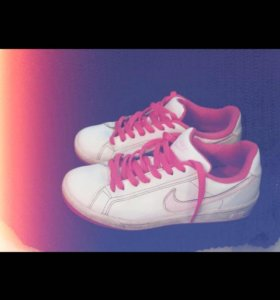 Кеды Nike женские.кожаные.🎀