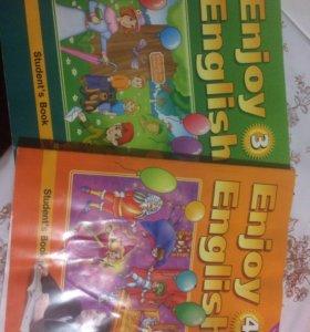 Учебники английского языка 3,4 класс