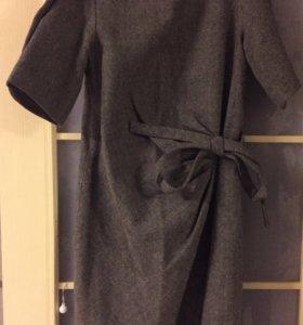 Очень тёплое шерстяное платье