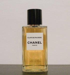Chanel Cuir de Russie делюсь селективным парфюмом