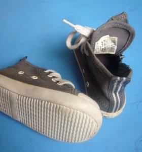 детские ботинки б/у весна